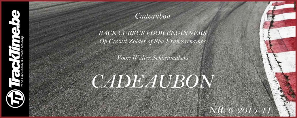Cadeaubon Race Cursus Voor Beginners Spa Zolder